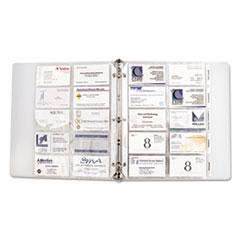 CLI61217 - C-Line® Looseleaf Business Card Protectors