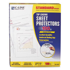 CLI62027 - C-Line® Polypropylene Sheet Protector