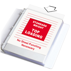 CLI62027BNDL2BX - C-Line ProductsStandard Weight Polypropylene Sheet Protectors, Clear, 11 x 8 1/2