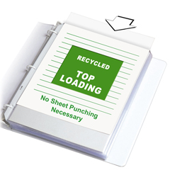 CLI62029BNDL2BX - C-Line Products - Recycled Polypropylene Sheet Protectors, Standard Weight