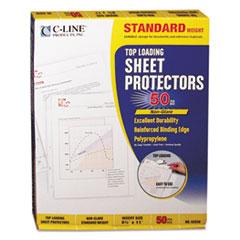 CLI62038 - C-Line® Polypropylene Sheet Protector