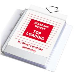 CLI62048BNDL2BX - C-Line ProductsStandard Weight Polypropylene Sheet Protectors, Non-glare, 11 x 8 1/2