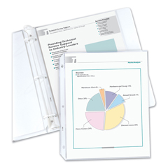 CLI62067 - C-Line Products - Economy Weight Polypropylene Sheet Protectors, Reduced Glare, 11 x 8 1/2