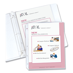 CLI62097 - C-Line ProductsHeavyweight Polypropylene Sheet Protectors, Clear, 11 x 8 1/2