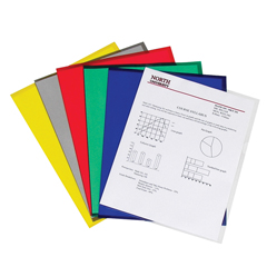 CLI62130BNDL2BX - C-Line ProductsProject Folders, Assorted, Reduced Glare