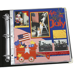 CLI62227 - C-Line ProductsMemory Book 12 x 12 Top Loading Scrapbook Page Protectors, Clear