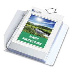 CLI62617 - C-Line ProductsBiodegradable Sheet Protectors, Clear, Polypropylene, 11 x 8 1/2