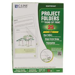 CLI62627 - C-Line® Biodegradable Project Folders