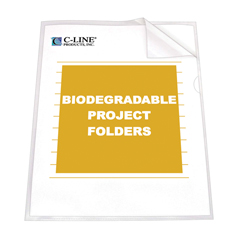 CLI62627BNDL2BX - C-Line ProductsBiodegradable Project Folders, Reduced Glare