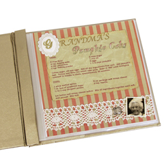 CLI66887BNDL2BX - C-Line ProductsMINI Memory Book Top Loading Scrapbook Page Protectors, Clear, 8 x 8