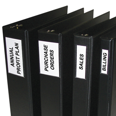 CLI70023BNDL5PK - C-Line Products - Self-Adhesive Binder Labels, 2 Binders, 1 3/4 x 2 3/4