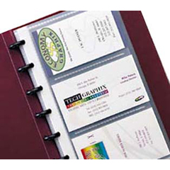 CLI71534BNDL3EA - C-Line ProductsBinder Builder Business Card Holders, Junior