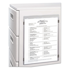 CLI83911 - C-Line ProductsMagnetic Shop Ticket Holders, 8 1/2 x 11