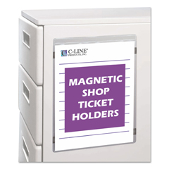 CLI83912 - C-Line ProductsMagnetic Shop Ticket Holders, 9 x 12