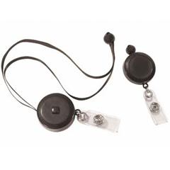 CLI88051 - C-Line ProductsRetractable Adjustable Neck Lanyard, Black