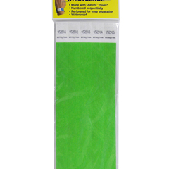 CLI89103BNDL2PK - C-Line ProductsDuPont Tyvek Security Wristbands, Green