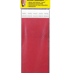 CLI89104BNDL2PK - C-Line Products - DuPont Tyvek Security Wristbands, Red