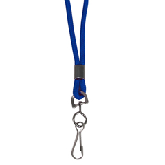 CLI89315BNDL48EA - C-Line ProductsStandard Lanyard, Swivel Hook, Blue
