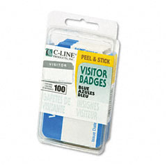 CLI92245 - C-Line® Self-Adhesive Name Badges
