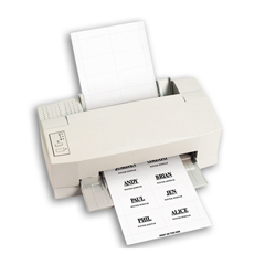 CLI92423BNDL5PK - C-Line ProductsLaser Printer Name Badge Inserts, 8/Sheet, 3 1/2 x 2 1/4