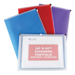 CLI99480BNDL12EA - C-Line Products - Zip N Go Reusable Envelope