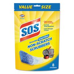 CLO10005PK - S.O.S® Non-Scratch Soap Scrubbers