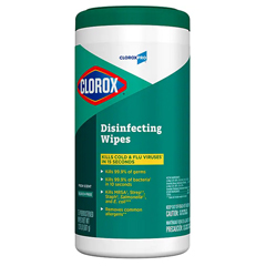 CLO15949CT - Clorox® Disinfecting Wipes