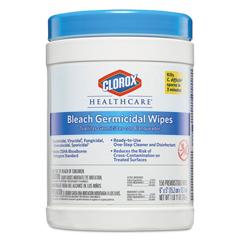 CLO30577CT - Clorox® Healthcare® Bleach Germicidal Wipes