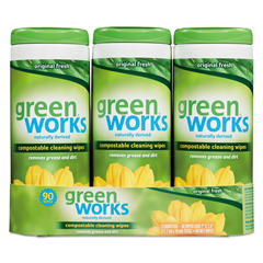 CLO30655 - Green Works® Compostable Cleaning Wipes