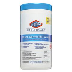 CLO35309 - Clorox® Healthcare® Bleach Germicidal Wipes