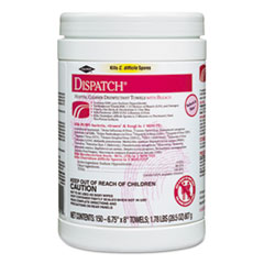 CLO69150 - Caltech Dispatch Hospital Cleaner Disinfectant Towels with Bleach