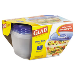 CLO70045 - GladWare® Plastic Containers with Lids