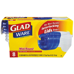 CLO70240 - GladWare® Plastic Containers with Lids