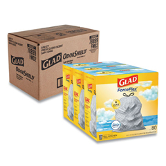 CLO78899 - Glad® OdorShield® Tall Kitchen Drawstring Bags