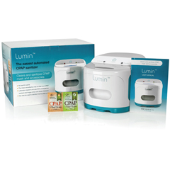 CMPLM3000 - Compass Health BrandsLumin™ CPAP UV Sanitizer for CPAP Masks & Accessories