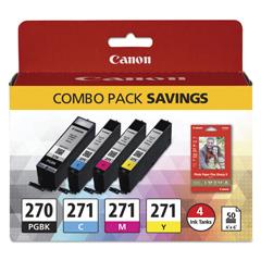 CNM0373C005 - Canon® 0373C005 Ink  Paper Pack