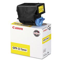 CNM0455B003AA - Canon 0455B003AA (GPR-23) Toner, 14000 Page-Yield, Yellow