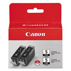 CNM0628B009 - Canon 0628B009 (PGI-5BK) Ink, 2/Pack, Black
