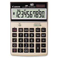 CNM1073B010 - Canon® HS-1000TG One-Color 10-Digit Desktop Calculator