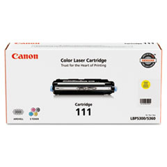 CNM1657B001 - Canon 1657B001 (111) Toner, 6000 Page-Yield, Yellow