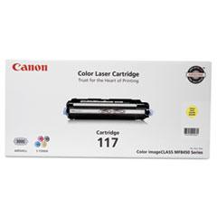 CNM2575B001 - Canon 2575B001 (117) Toner, 4,000 Page-Yield, Yellow