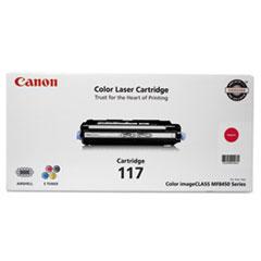 CNM2576B001 - Canon 2576B001 (117) Toner, 4,000 Page-Yield, Magenta
