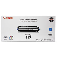 CNM2577B001 - Canon 2577B001 (117) Toner, 4,000 Page-Yield, Cyan
