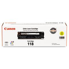 CNM2659B001 - Canon 2659B001 (118) Toner, 2900 Page-Yield, Yellow