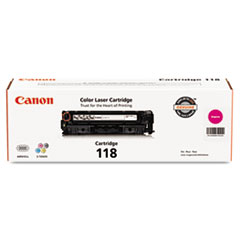 CNM2660B001 - Canon 2660B001 (118) Toner, 2900 Page-Yield, Magenta