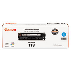CNM2661B001 - Canon 2661B001 (118) Toner, 2900 Page-Yield, Cyan