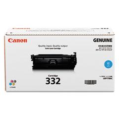 CNM6262B012 - Canon 6262B012 (332) Toner, 6400 Page-Yield, Cyan