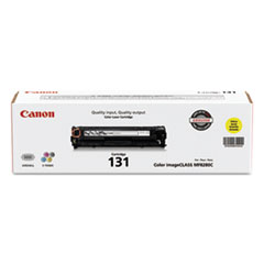CNM6269B001 - Canon 6269B001 (CRG-131) Toner, 1500 Page-Yield, Yellow