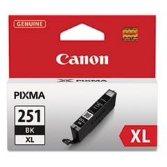 CNM6448B001 - Canon 6448B001 (CLI-251XL), High-Yield Ink, 11 mL, Black