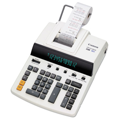 CNM9933B001 - Canon® CP1213DIII 12-Digit Heavy-Duty Commercial Desktop Printing Calculator